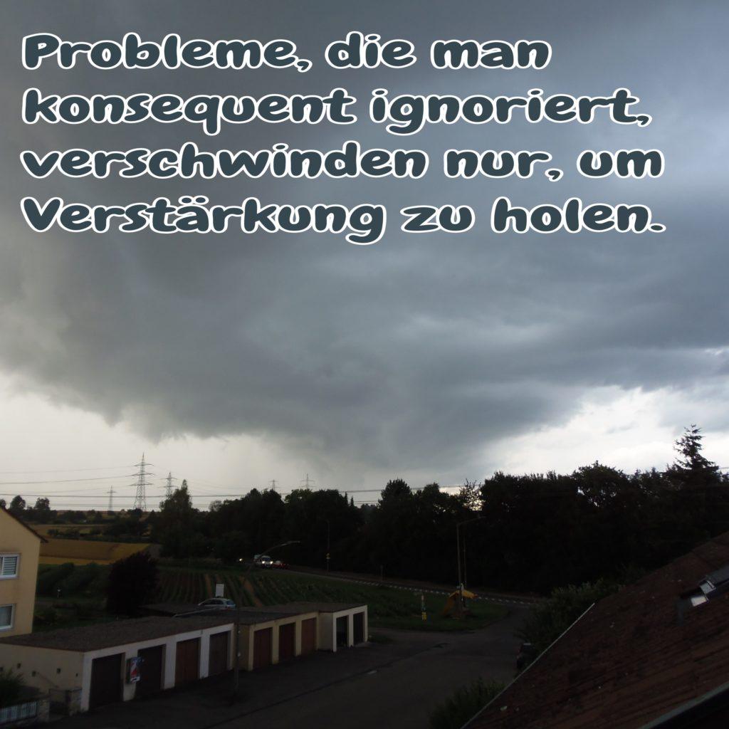 Besinnliche Zeiten - Probleme